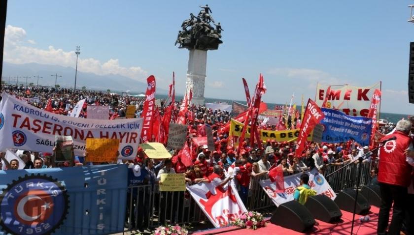 İzmir'de Türk-İş şubelerinden örnek tutum: Merkeze uymadılar, 1 Mayıs ortak kutlanacak