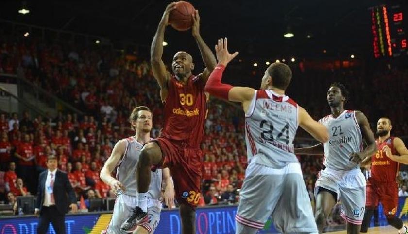 Galatasaray, finalin ilk ayağında 66-62 mağlup oldu