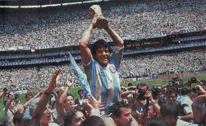 1986 Meksika: Tanrı'nın eli ve ayağı