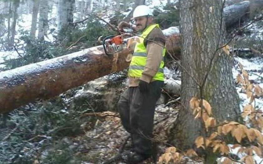 Ağacı çekerken uçuruma yuvarlanan orman işçisi yaşamını yitirdi