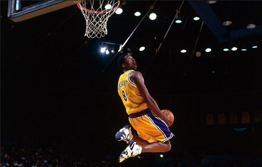 NBA efsanesi Kobe Bryant basketbola veda etti
