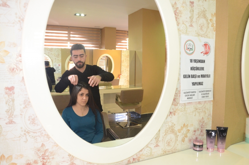 Antep'te çocuklara 'gelin başı ve ve makyajı' yapılmayacak