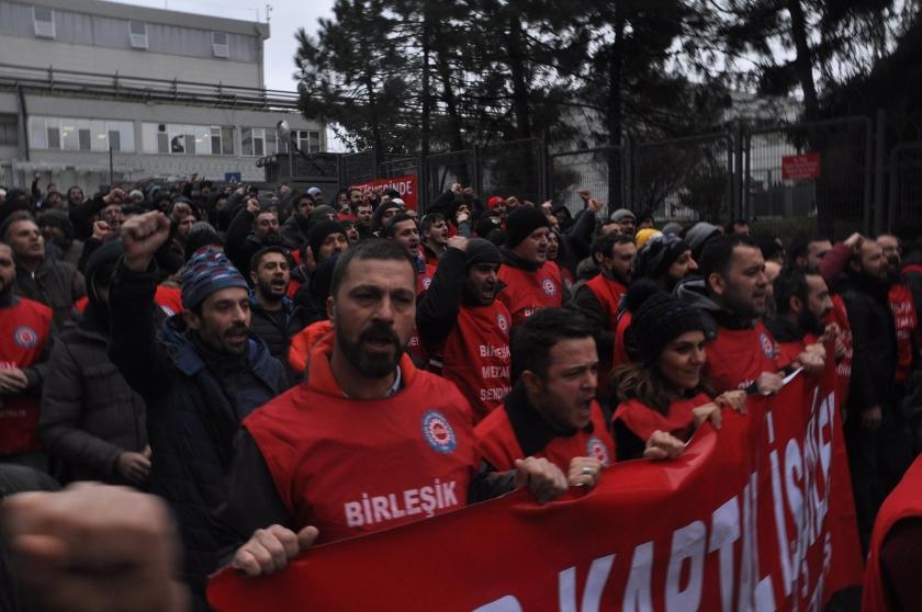 AKP hükümeti 16 grev yasağı ile işçilerin grev hakkını gasbetti