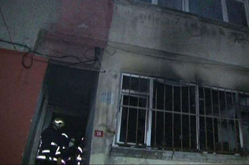 Fatih'te yangın: 6 kişi yaralandı