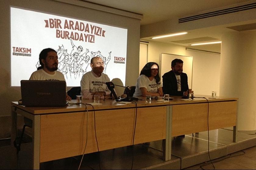 Gözümüz ve elimiz Gezi Parkı'nda