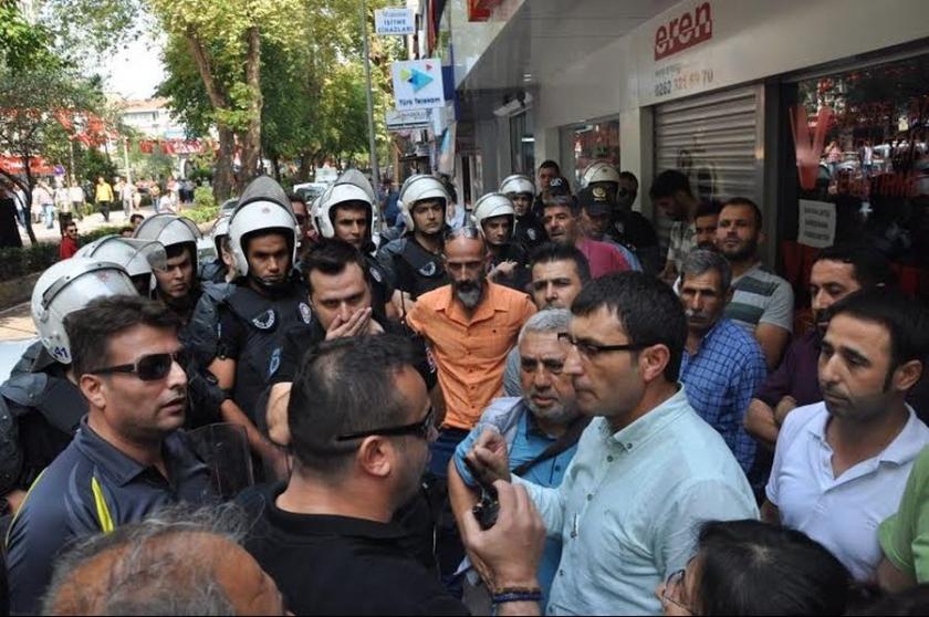 HDP'nin Antep açıklamasına OHAL engeli