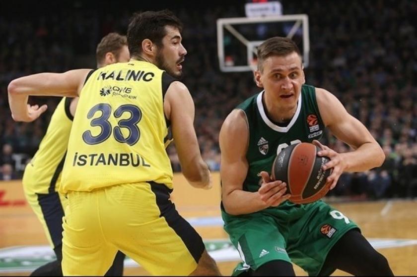 Zalgiris Kaunas'ı yenen Fenerbahçe Play-Off'u garantiledi