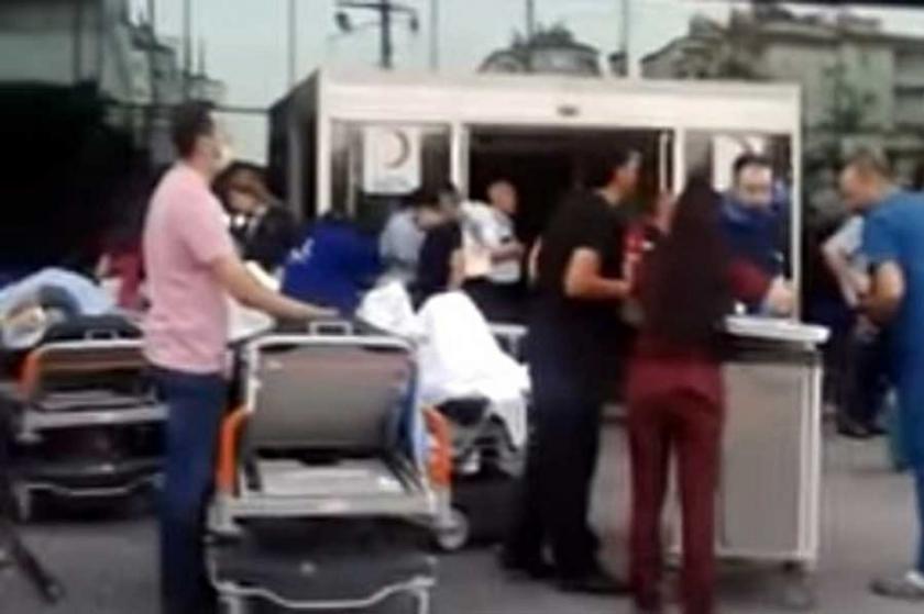 Antep'te hastanede yangın: 2 kişi yaşamını yitirdi