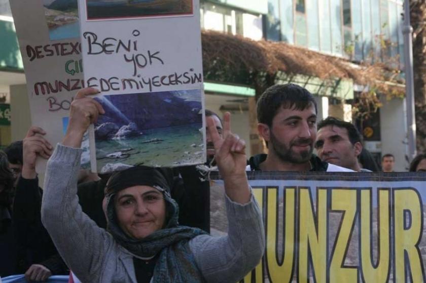 Munzur'a HES'i Başbakan değil yargı durdurdu