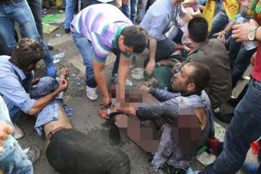 HDP mitingine bombalı saldırının 5 zanlısına ağırlaştırılmış ömür boyu hapis istemi