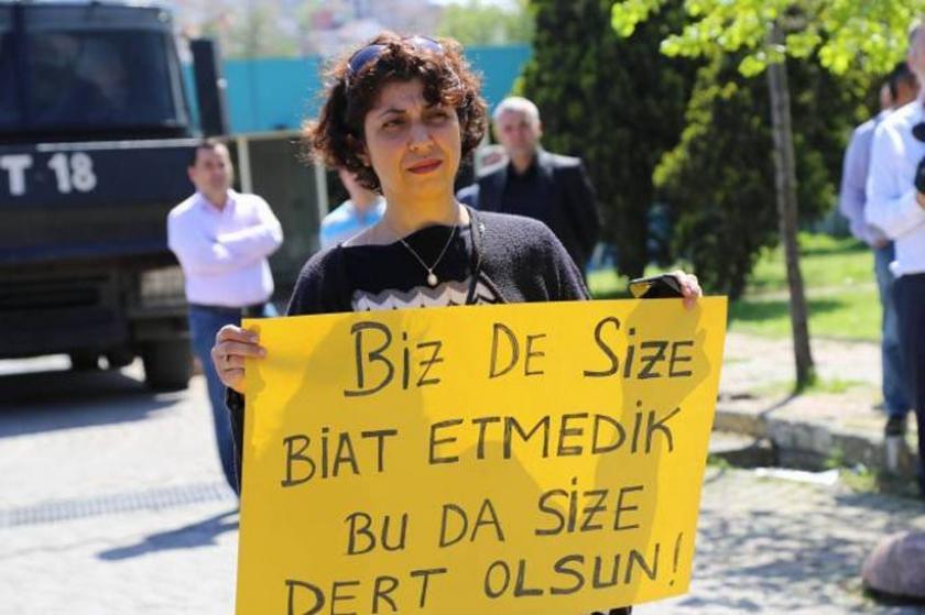 İGDAŞ'tan 4 işçiye Erdoğan cezası!