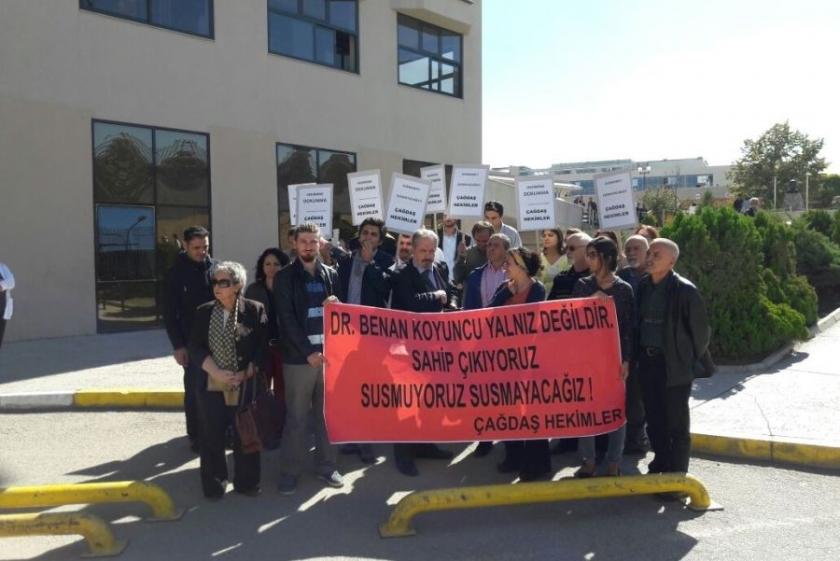 'Dr. Benan Koyuncu yalnız değildir'