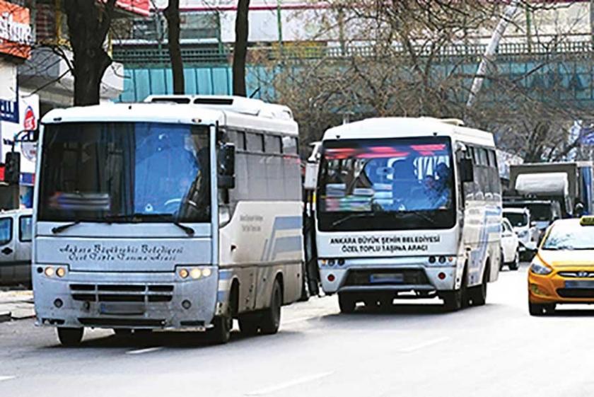 Ankara'da 65 yaş üzeri yolcuların ücret çilesi