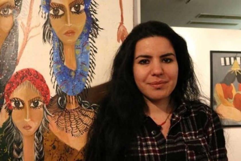 Tutuklu Gazeteci Zehra Doğan'ın resimleri Fransa'da sergilenecek