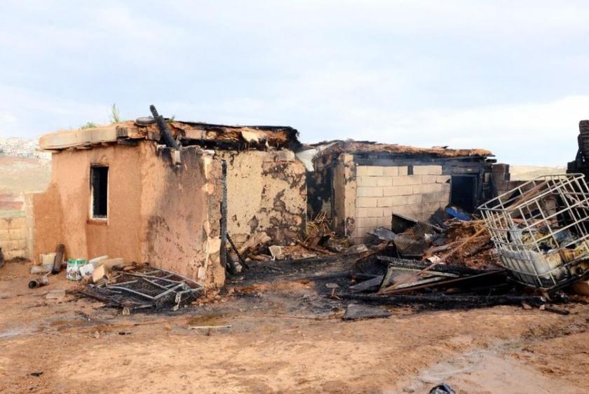 Antep'te barakada yangın: Baba ve 6 oğlu hayatını kaybetti