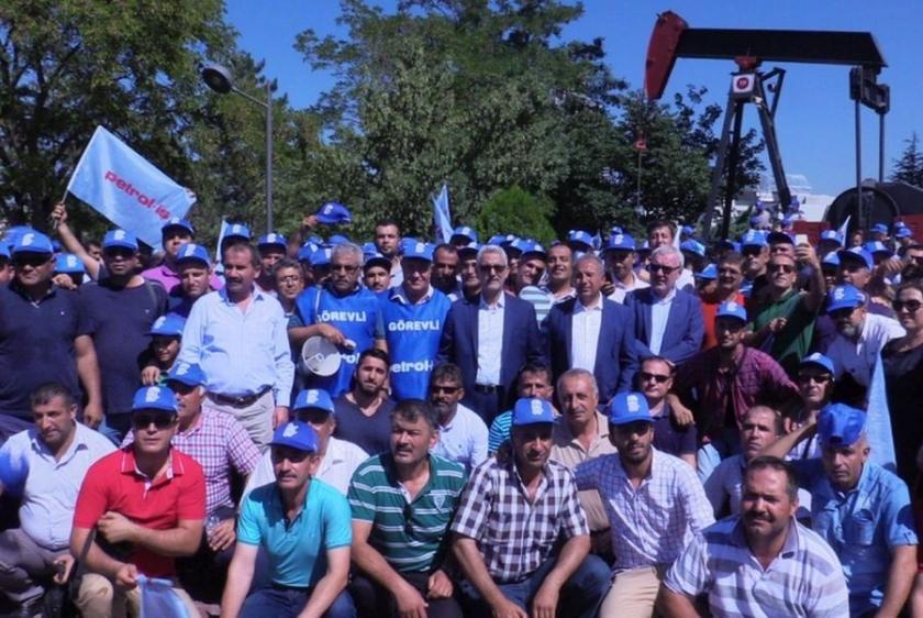 Petrol işçisinden grev uyarısı!