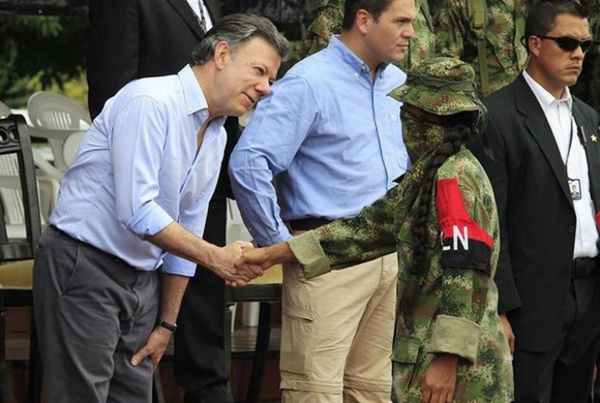 Kolombiya'da hükümet ELN ile de barış masasına oturacak