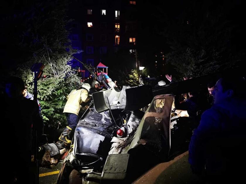 çekmeköy helikopter düştü ile ilgili görsel sonucu
