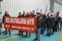 Metal işçileri 6.4'lük teklifi protesto etti: Grev kapıda