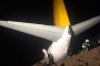 Trabzon'da yolcu uçağı pistten çıktı
