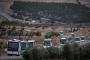 20 otobüs cihatçı, Afrin'e komşu Azez'e taşındı
