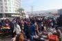 Kapatılan bitpazarının esnafı, belediye ve valiliğe tepkili