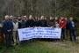 Maçka'da köy halkı, HES yapılmasına karşı çıktı