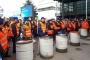 Almanya'da SPD kongresi protesto eşliğinde başladı