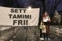 'Filistin'in cesur kızı' Ahed için Oslo'da eylem