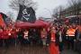 Hamburg'da 24 saatlik grev başladı