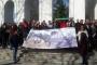 Maçka Parkı'nda tünel inşaatına karşı protesto