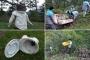Marmaris'te doğadan 15 ton atık toplandı