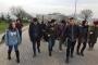 KOÜ'de hazırlık öğrencileri ulaşım hakkı için yürüyor