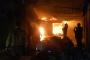 Osmaniye'de 150 dükkanın bulunduğu çarşıda yangın