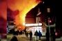 Leicester'de patlama: İki katlı bina çöktü
