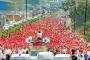 Hindistan'da on binlerce köylü talepleri için 6 gün yürüdü