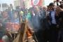 Urfa'da ilk Newroz ateşi Siverek'te yakıldı