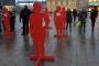 Finlandiya'da kadına şiddete karşı kampanya