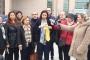 CHP'li Gülay Yedekci iyi hal indirimini protesto ederek kravat kesti