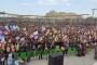 Bölge'de halk, Newroz alanlarında buluştu