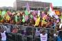 Newroz ateşi pek çok kentte 'halklar kazanacak' şiarıyla yakıldı