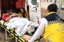 Hastaneden kaçmak isteyen mülteci düşerek ağır yaralandı