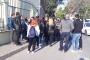 İşten atılan Ege Üniversitesi işçilerinin eylemine polis engeli