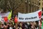 Almanya'da metal işçileri ırkçı partiyi eylemine sokmadı
