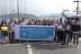 Marmaris'te Ortaöğretime Geçiş Sistemi protestosu