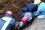 63 yaşındaki işçi göçük altında kalarak yaralandı