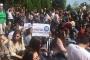 Gazi'de 'Üniversiteme dokunma' eylemi