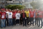 Mersin Emek ve Demokrasi Platformu'ndan 1 Mayıs bildirisi dağıtımı