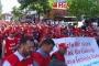 Çankaya Belediyesi işçileri haklarını istedi