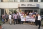 Karşıyaka ve Balçova İZSU binalarında 1 Mayıs çağrısı